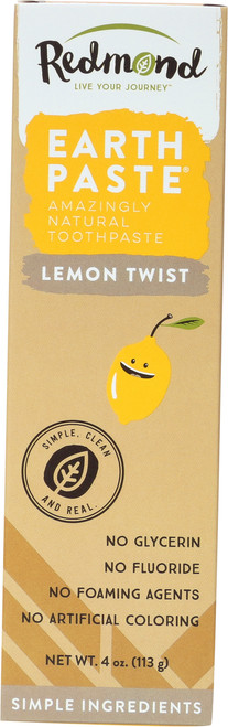 Earthpaste Toothpaste-Lemon Twist    Lemon Twist