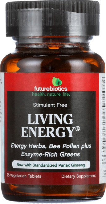 Living Energy With Standardized Panax Ginseng