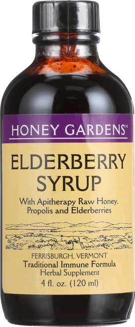 Cough Syrup Elderberry