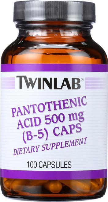 B-5 Pantothenic Acid 500Mg