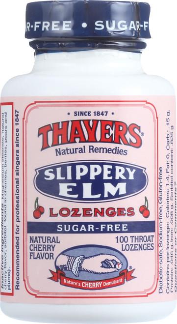 Slippery Elm Lozenges Cherry