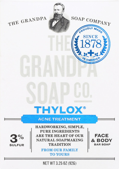 Face & Body Bar Soap Thylox® Acne Treatment