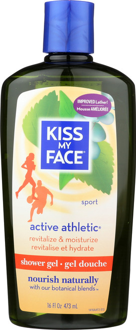 Active Athletic Shower Gel Athletic