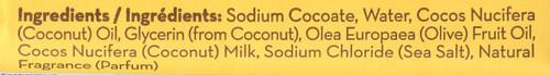 Coconut Milk Bar Soap Coconut Milk 5oz