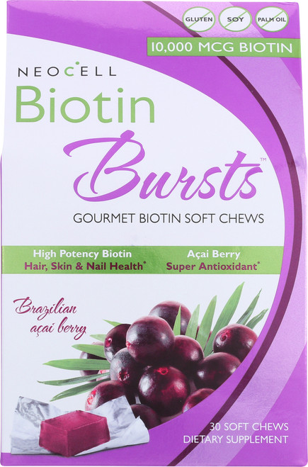Biotin Bursts Brazilian Acai Berry