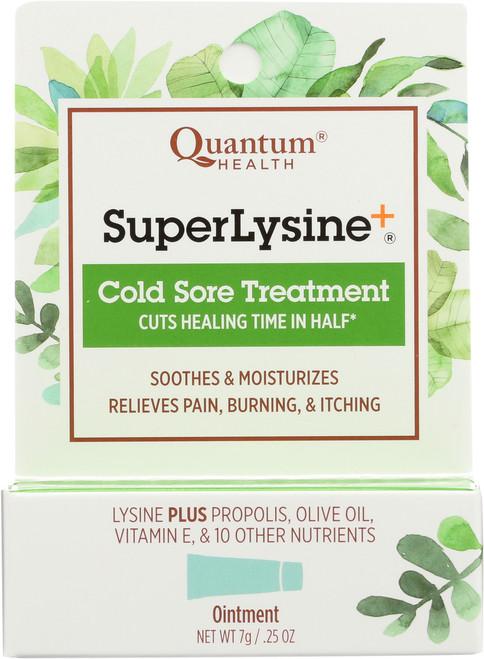 Superlysine+ Cold Sore Treatment Cold Sore Ointment