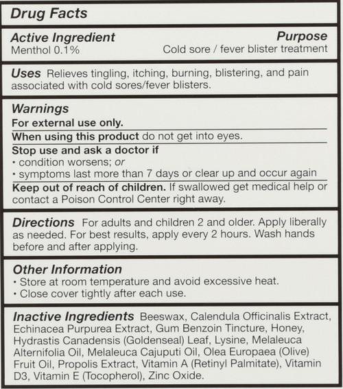 Superlysine+ Cold Sore Treatment Cold Sore Ointment 7 G 0.25oz