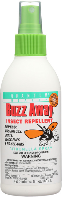 Buzz Away Insect Repellent Natural Insect Repellent