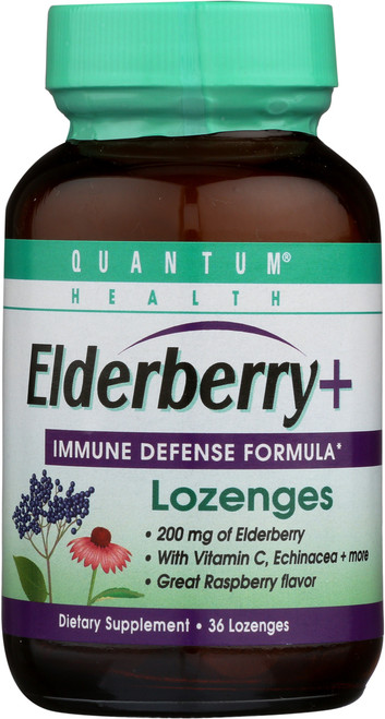 Elderberry+ Immune Defense Lozenges Lozenges