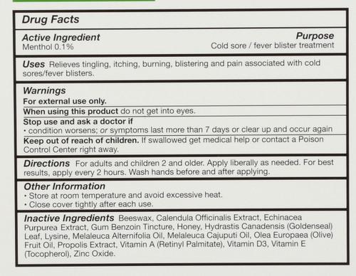 Superlysine+ Cold Sore Treatment Cold Sore Ointment 21 G 0.75oz