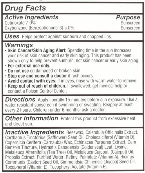 Super Lysine+ Coldstick Lip Balm Natural Lip Balm Protectant 5 G 0.17oz