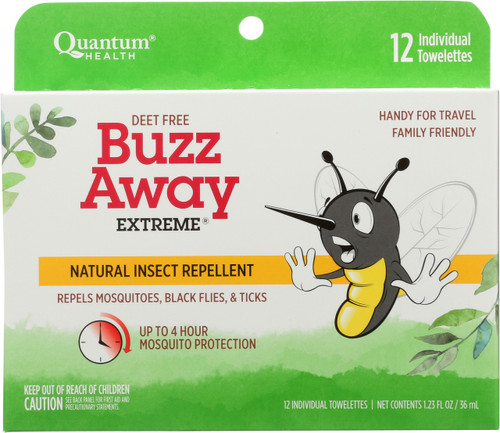 Buzz Away Extreme  Natural Insect Repellent