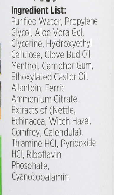 Itch Nix Gel Poison Ivy & Poison Oak Relief 4 Fl oz 118 Ml