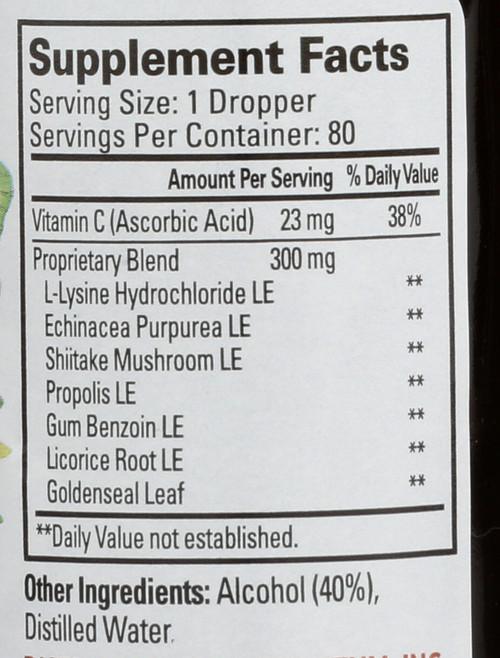 Superlysine+ Liquid Extract Liquid Tincture 2 Fl oz 59 Ml