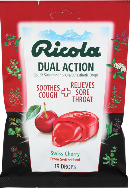 Cough Drop Dual Action Cherry