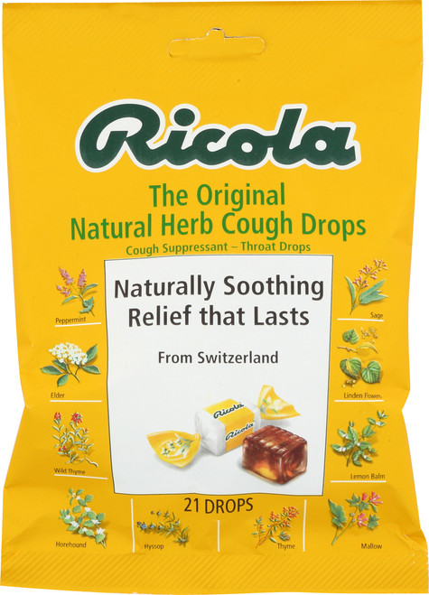 Cough Drops Original Natural Herb