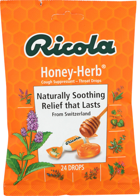 Cough Suppressant - Throat Drops Honey-Herb®