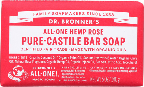Bar Soap All-One Hemp Rose