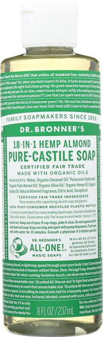 Liquid Soap 18-In-1 Hemp Almond