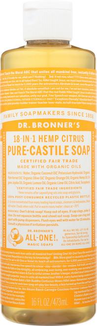 Liquid Soap 18-In-1 Hemp Citrus
