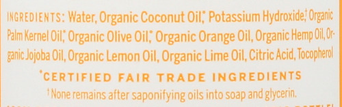 Liquid Soap 18-In-1 Hemp Citrus 16 Fl oz 473 Ml