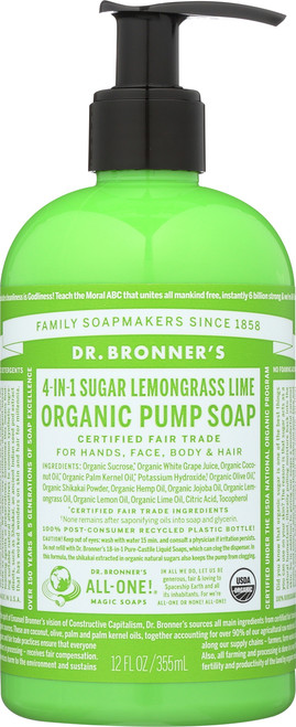 Hand Soap Lemongrass Lime Sugar