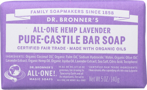 Bar Soap All-One Hemp Lavender