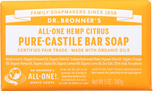 Bar Soap All-One Hemp Citrus