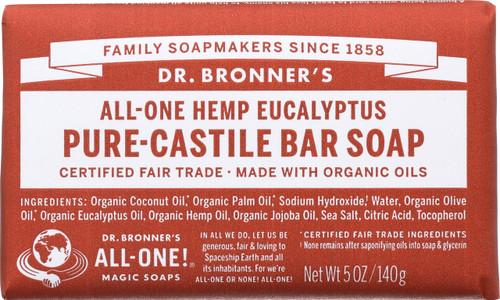 Bar Soap All-One Hemp Eucalyptus