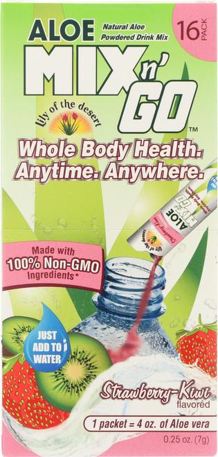 Aloe Mix N' Go™ Strawberry-Kiwi Flavored