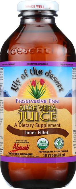 Aloe Vera Juice Inner Fillet