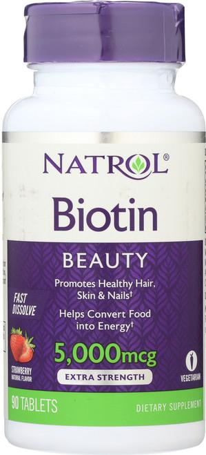 Vitamin/Supplements Biotin 5000Mcg