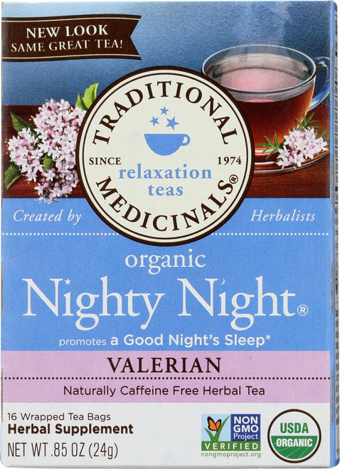 Bagged Tea Nighty Night® Valerian