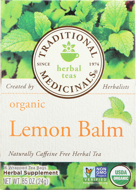Bagged Tea Lemon Balm