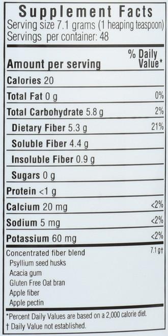 Soluble Fiber Formula Dietary Supplement 12 Ounce 340 Gram