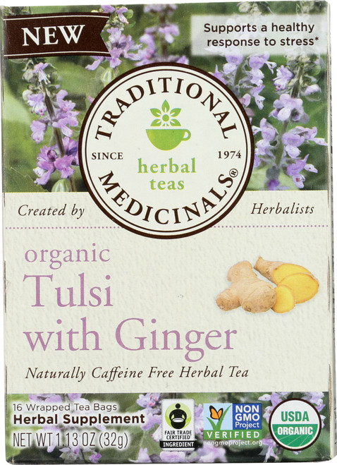 Bagged Tea Tulsi With Ginger