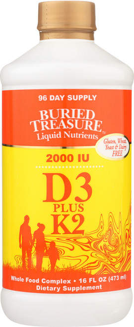 Liquid Nutrients D3 With K2