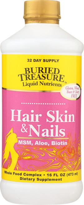 Hair, Skin And Nails Msm, Aloe, Biotin, Vitamins & Minerals