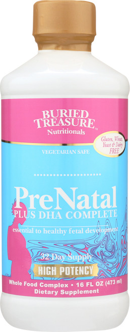 Liquid Nutrients Pre Natal Plus Dha Complex New/Improved With Methylfolate