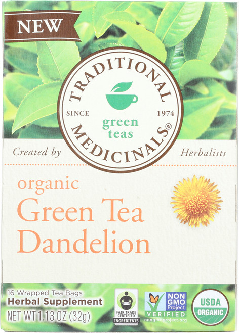 Bagged Tea Green Tea Dandelion