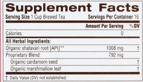 Bagged Tea Mother's Milk Naturally Caffeine Free Herbal Tea 16 Tea Bag 1.01oz
