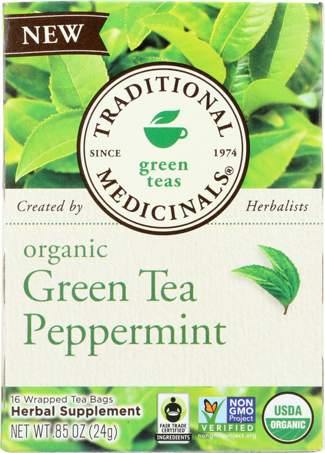 Bagged Tea Green Tea Peppermint