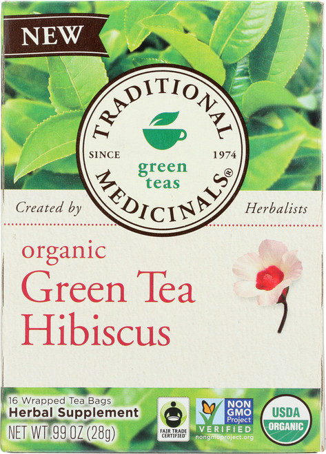 Bagged Tea Green Tea Hibiscus