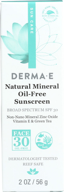 Mineral Sunscreen Spf 30 Face