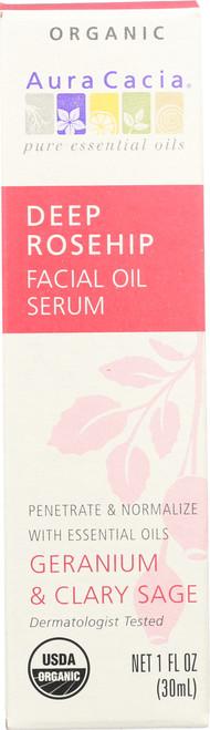Deep Rosehip Facial Oil Serum With Geranium & Clary Sage