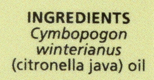 Citronella Java Essential Oil Citronella Java 0.5 Fl oz 15 Ml