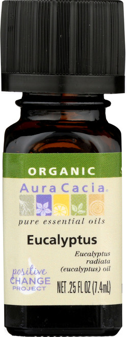 Eucalyptus Certified Organic Essential Oil