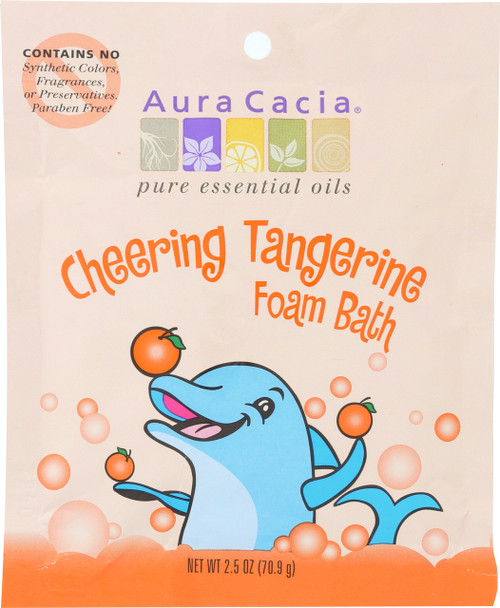 Cheering Aromatherapy Foam Bath For Kids (Dolphin)