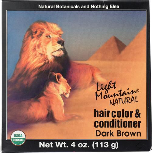 Haircolor & Conditioner Dark Brown