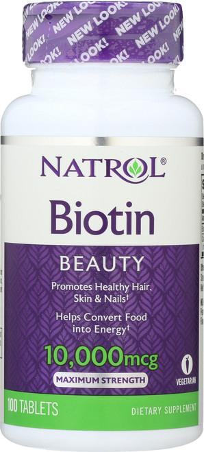 Vitamin/Supplements Biotin 10,000Mcg